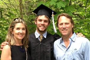 Braedon UNH graduation May 2013
